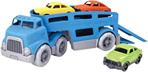 Green Toys CCRB-1237 Car Carrier Vehicle, Blue