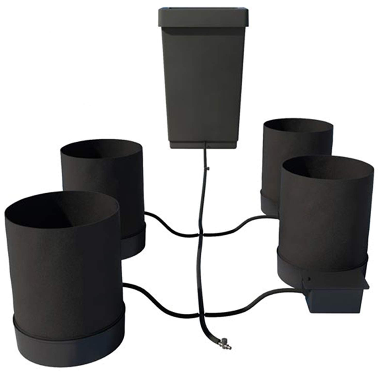 AutoPot Smart Pot 4 Pot XL System with 12.4 gal Tank (5 gal Smart Pots)