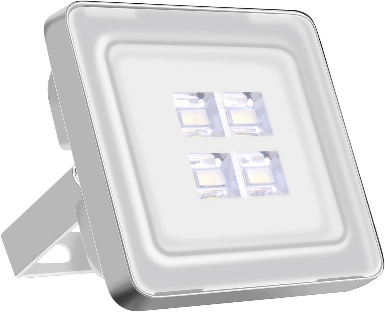 Viugreum Focos LED Exterior 10w / Proyector Reflector de Pared/Iluminación Exterior IP65 Resistente al agua