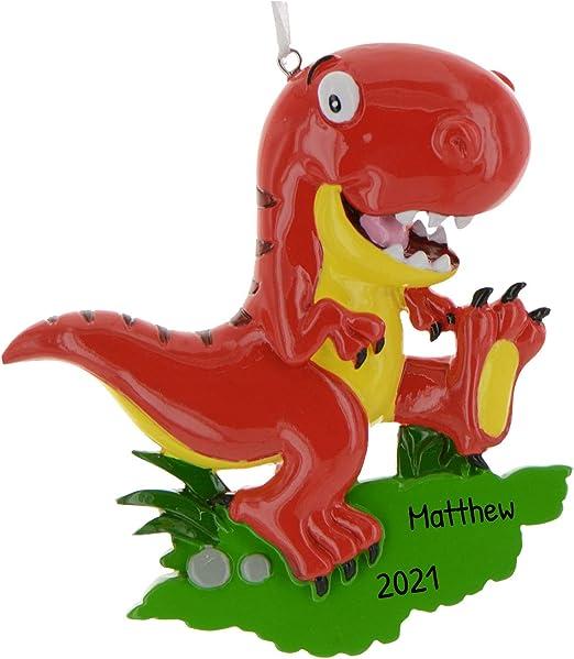 Rex Membership Christmas 2020 Amazon.com: Personalized T Rex Velociraptor Dinosaur Christmas