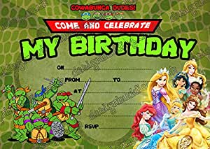 Teenage Mutant Ninja Turtles & Disney Princess 10 de grosor ...