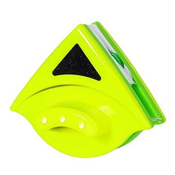 SAVORLIVING Limpiaparabrisas de Vidrio Magnético Doble Cara Limpiador de Ventanas Magneacutetico para Ventanas de Doble Acristalamientode Hasta 8-30 mm ...