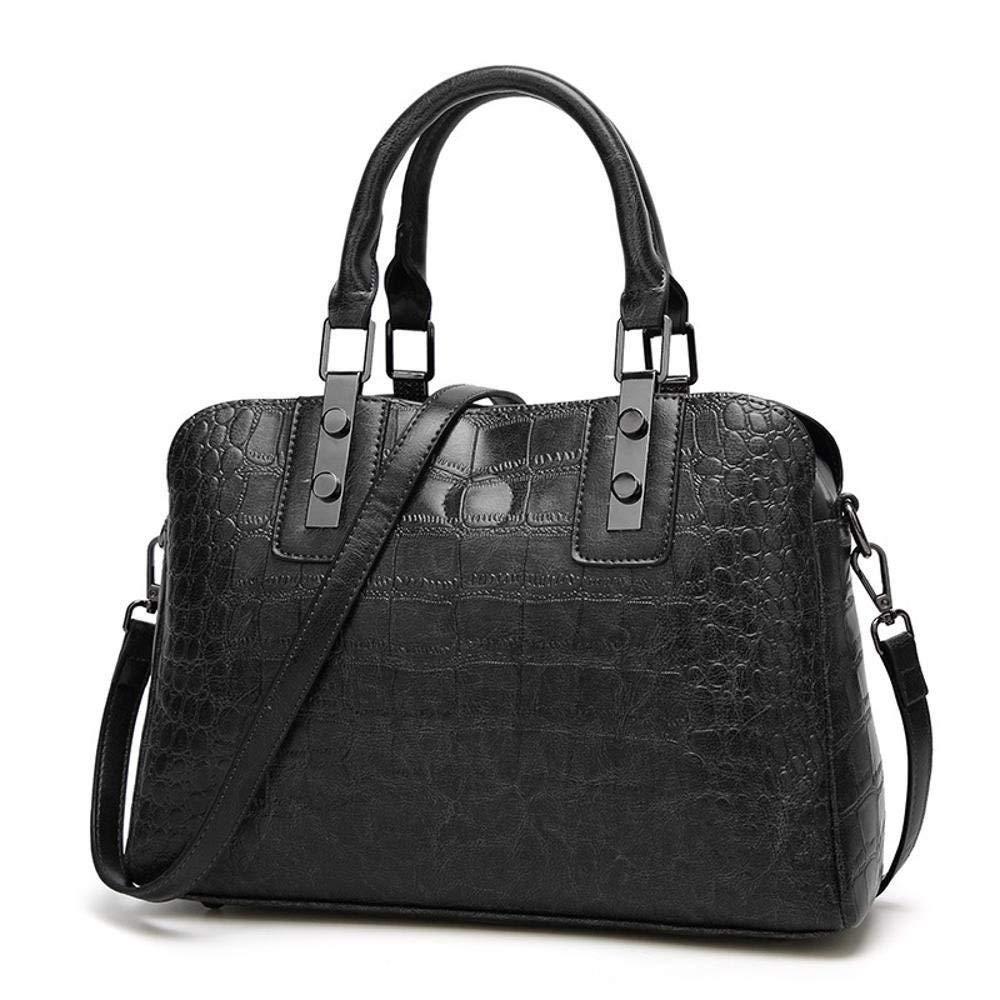 YangTrade レトロスタイルの女性の財布ファッションボストンバッグレディースハンドバッグ M C B07PK2ZKD1