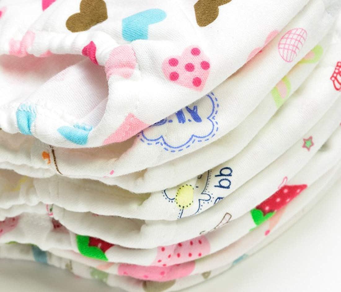 Pack of 4 XNN Soft Cotton Baby Toddler Underwear Little Boys Girls Assorted Briefs