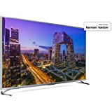 "Sharp LC-55UI8762ES - Smart TV 55"" 4K Ultra HD (LED, 3 HDMI 2.0 admiten 2160p a 60Hz, puerto USB 3.0, HDR+, DVB-C, DVB-S, DVB-S2, DVB-T MPEG-2, DVB-T MPEG-4 (H.264), DVB-T2), color gris"