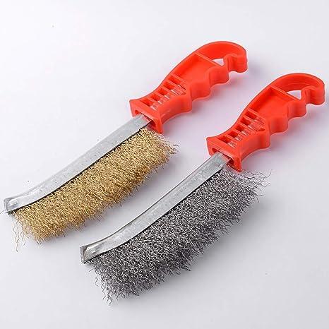 Dragonaur cepillo de limpieza, práctico cepillo de alambre ...