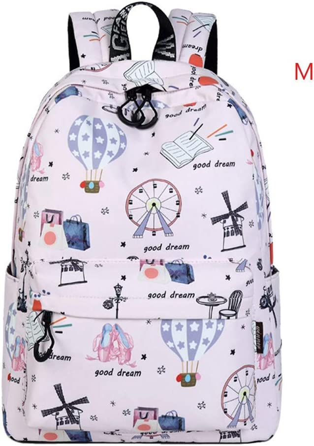 Yilong 15.6 Inch Computer Bag Female Backpack Mens Handbag 14 Inch Notebook Backpack Casual Bag College Student Bag Extracurricular Bag Oxford Cloth Color : M, Size : 433114CM