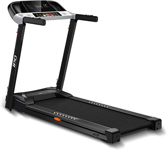 IPO Treadmill Folding Electric Portable Treadmill Running Machine with Wheels Easy Assembly