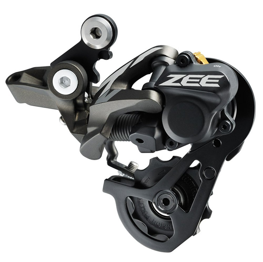 SHIMANO RD-M640 Zee Shadow Plus 10 Speed Rear Derailleur (Use with 11-23/11-28 Cassette) by SHIMANO