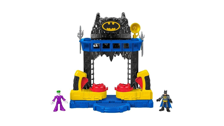 Imaginext Battaglia nella Batcaverna,per Incredibili Duelli tra Joker e Batman a Gotham City,, FKW12 Mattel