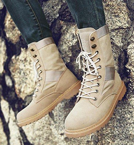 da ginnastica in lavoro e inverno Scarpe casual ginnastica da Scarpe da autunno Oxford HYLM in yellow Scarpe scarpe di 4wOff5dq