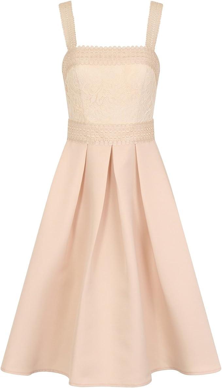 Little Mistress Damen Pleated Kleid: Amazon.de: Bekleidung