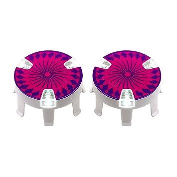 Micro Scooter – rueda Whizzer rosa para niños y niñas de ...