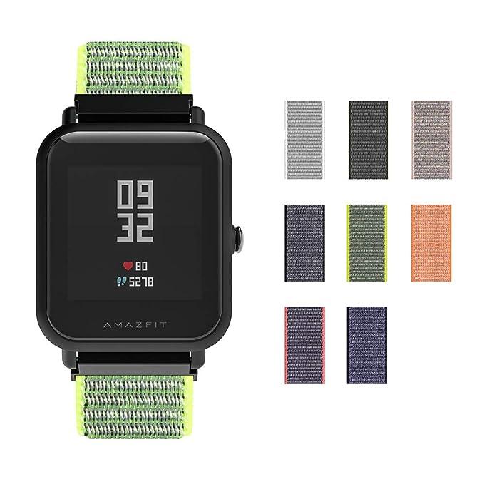 Correa Bradley Timepiece SIKAI 20mm Smartwatch Band Reemplazo de ...