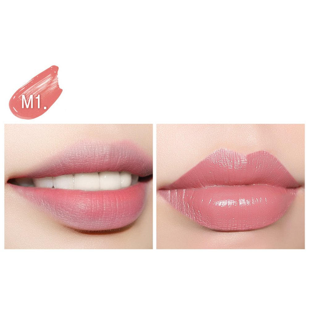Amazon Eglips Lively Lip Tattoo Vivid Color Long Lasting Mousse Cake Series M1 Mango Peach Beauty