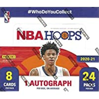 $299 » 2020/21 Panini Hoops NBA Basketball RETAIL box (24 pks/bx)