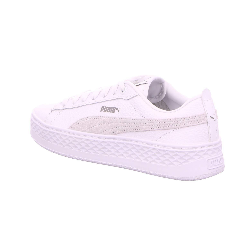 d9b89e9cf19 Puma Smash Platform L wit sneakers dames: Amazon.co.uk: Shoes & Bags