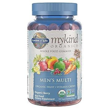 garden of life mykind organics mens gummy vitamins berry certified organic non - Garden Of Life Vitamins
