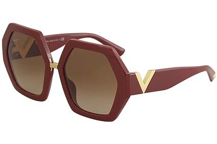 Gafas de Sol Valentino RESORT VA 4053 RED/BROWN SHADED mujer ...