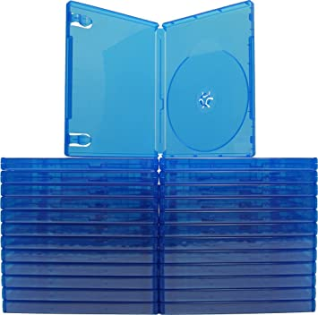 Amazon.com: (25), color azul PlayStation 4 casos – Capacidad ...