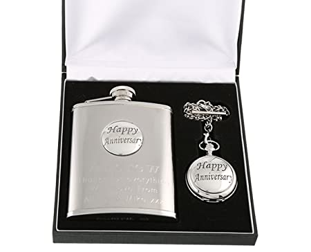 Engraved 30th Anniversary Gift - Pewter Feature Mother of