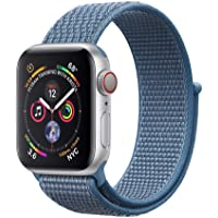 Corki pour Apple Watch Bracelet 38mm 40mm 42mm 44mm, Nylon Sport Loop Tissé Bracelet de Remplacement Bande pour iWatch Apple Watch Séries 4, Séries 3, Séries 2, Séries 1