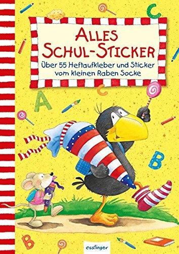 Der kleine Rabe Socke: Alles Schul-Sticker