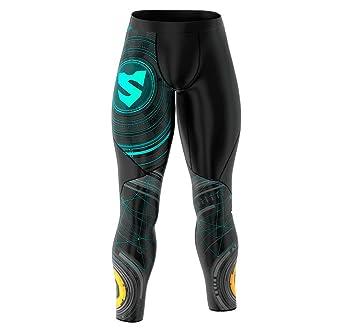 0d0736e72e28e3 Smmash CrossFit Compression Men's Leggings GATE - Size S up to XXL ...