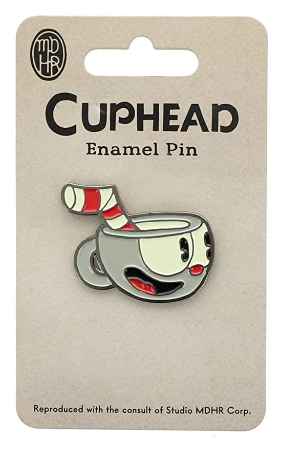 Art EXCLUSIVE Cuphead Devil Enamel Collector PinFeat The Devil From Cuphead