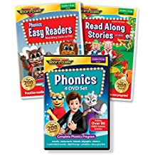 Reading DVD Collection - Phonics 4-DVD Set, Phonics Easy Readers, Read Along Stories