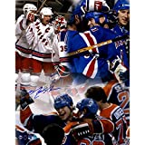 Mark Messier Rangers Oilers Autographed Signed Teamwork 11x14 Photo Steiner Sports Coa