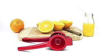 HomeExpress Exprimidor de limón de mano – Exprimidor manual de cítricos para limón naranja lima zumo
