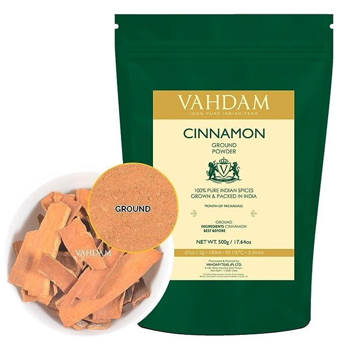 90 opinioni per Cannella macinata, 500g- Dolce, aromatica e ricca di antiossidanti- 100% pura