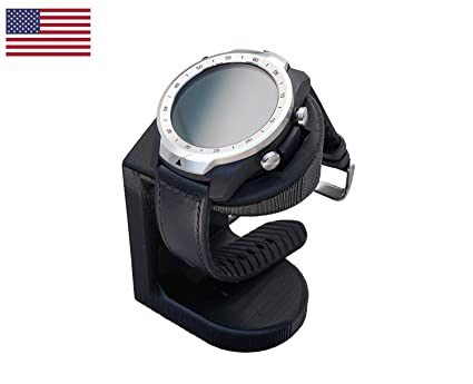 Artifex Design - Soporte configurado para reloj inteligente TicWatch Pro, base de carga