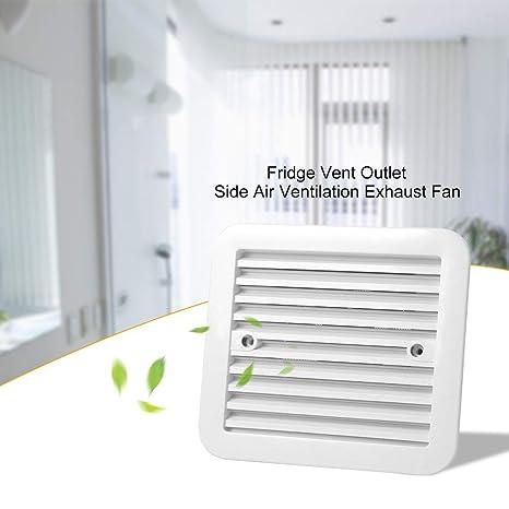 JohnJohnsen Blanco 12V Nevera Salida de ventilación Ventilación ...