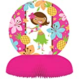 Creative Converting Pink Luau Fun Honeycomb Centerpiece Party Decoration
