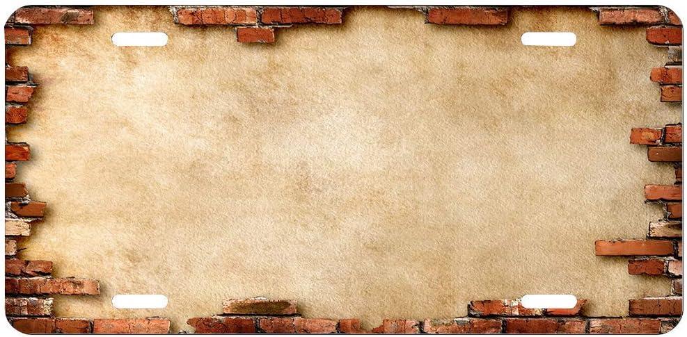 Amazon Com Vintage Red Brick Wall Concrete Bricks Rustic License