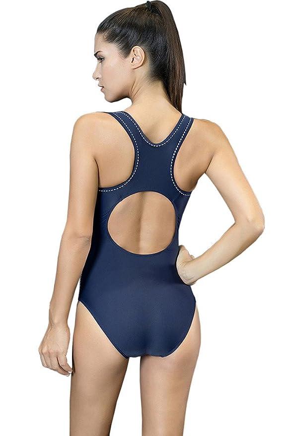 a4b8239b86ce Cokar Deporte natación una Pieza para Mujer Entrenamiento Traje de ...