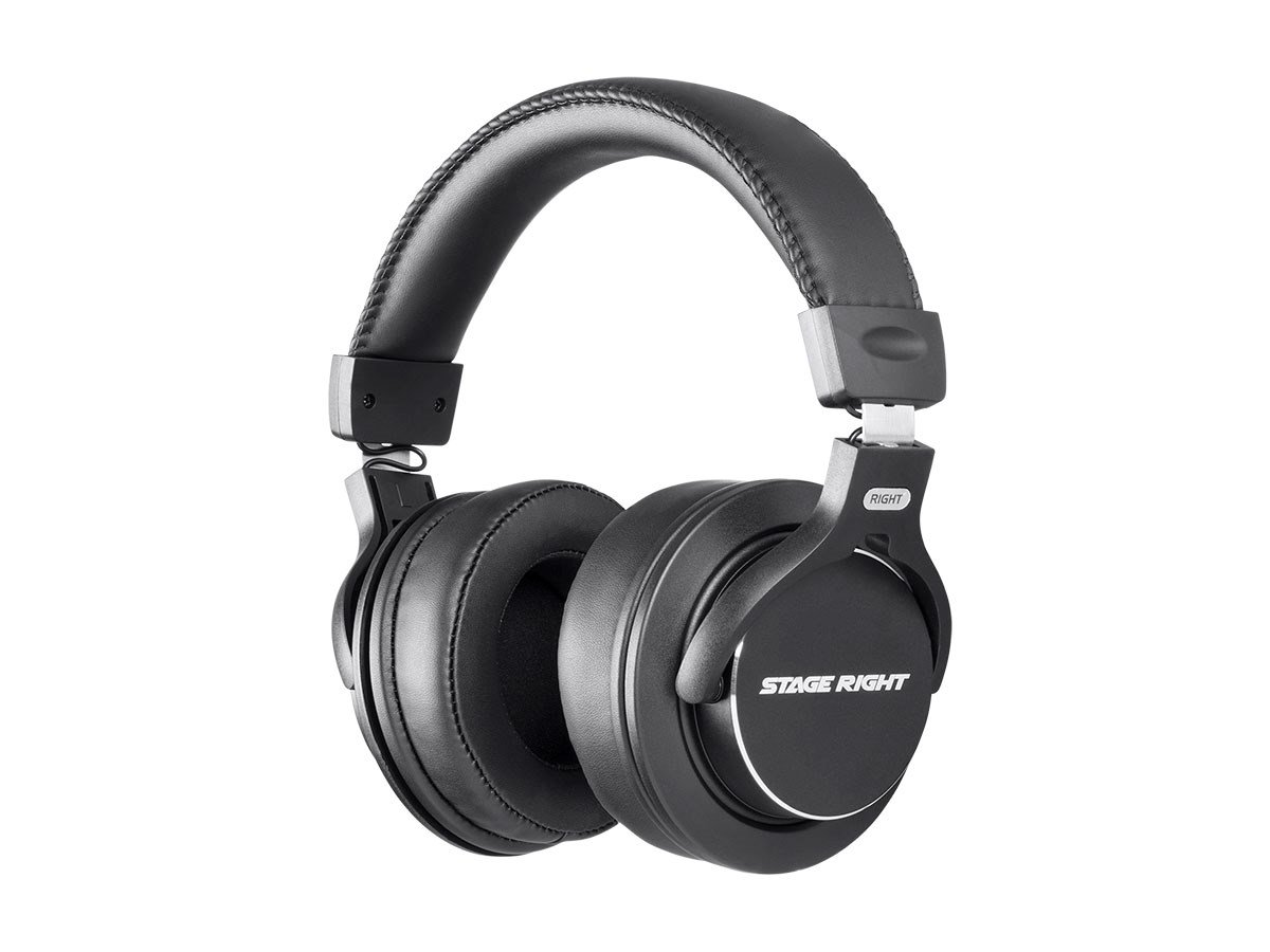 Stage Right Multimedia Studio Reference Monitor Headphones 53mm (Closed-Back)
