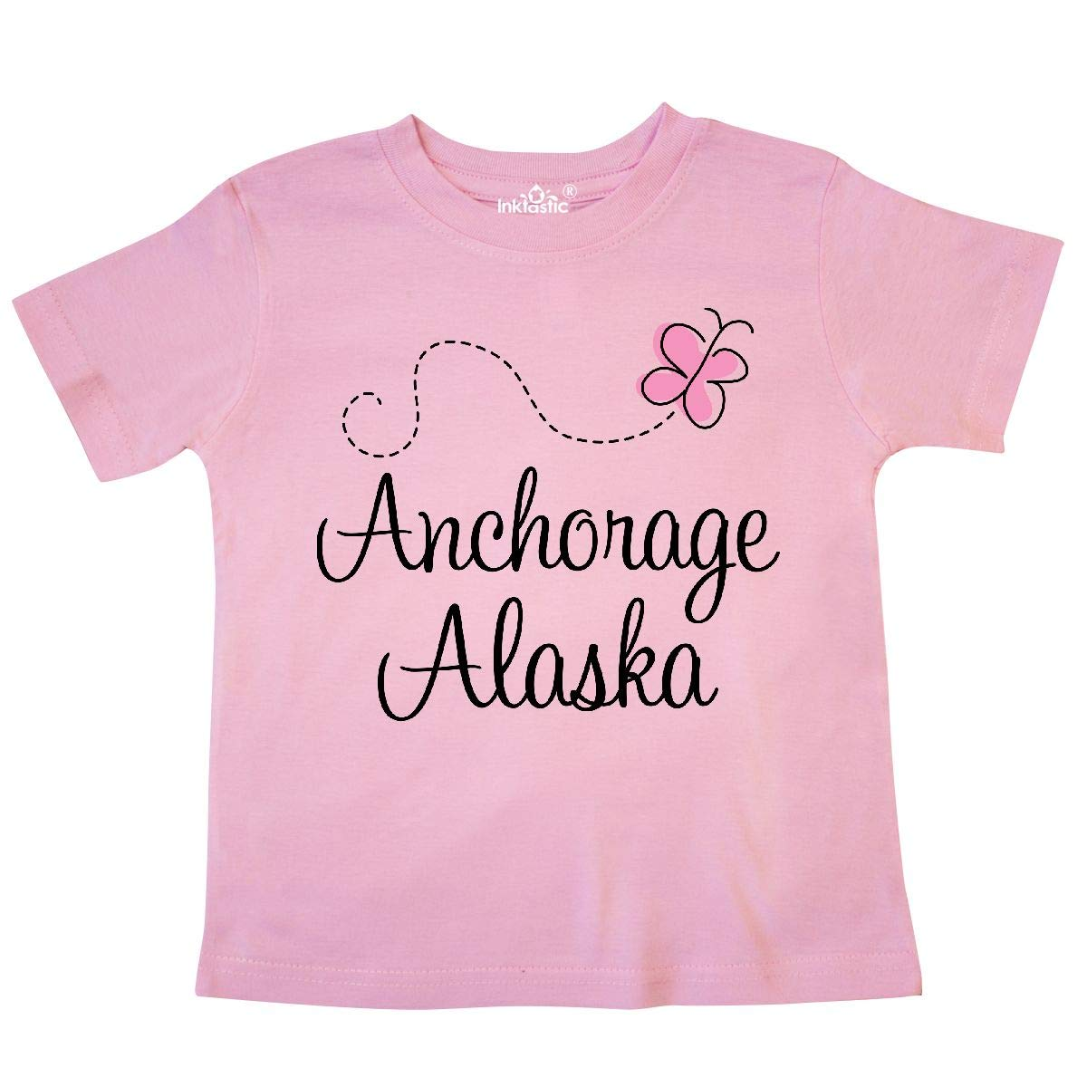 inktastic Anchorage Alaska Toddler T-Shirt