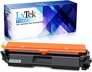 LxTek Compatible Toner Cartridge Replacement for HP 17A CF217A to use with Laserjet Pro M102w M130fw, Laserjet Pro MFP M130fw M130nw M130fn M130a Printer, 1 Black, High Yield(with Chip)