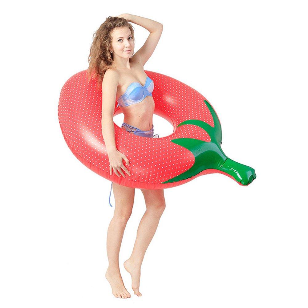 Plástico ecológico Asiento inflable del flotador de la piscina del anillo de la natación del PVC para los juguetes adultos del resto de la piscina de los niños Equipo de deportes acuáticos al aire libre