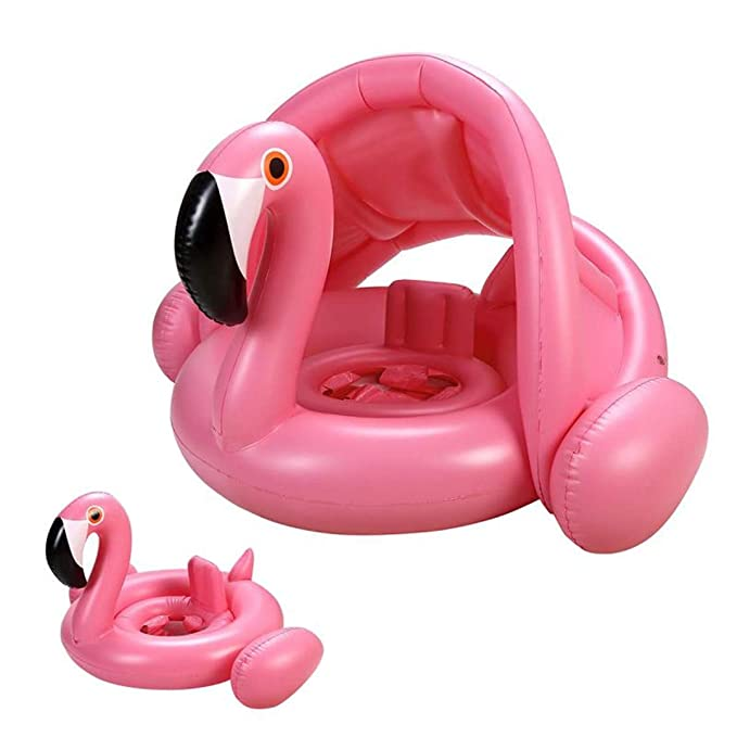 Amazon.com: UGA Flamingo Flotador de bebé – Anillo de ...