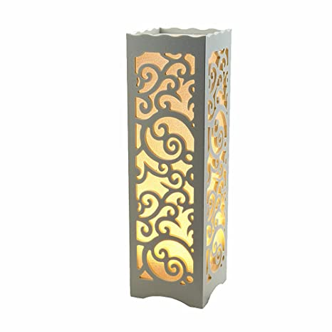 Table Lamps Night Lights White Lampshade Table Lamp For Bedroom Home