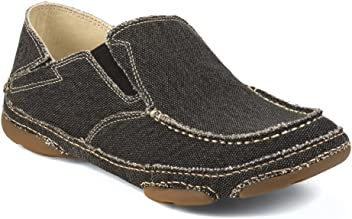 Tony Lama Mens Georgetown Black Casual Shoes
