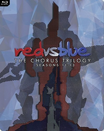 Red vs. Blue: The Chorus Trilogy (Seasons 11-13) Steelbook [Blu-ray] (The Best Videogame Ever Made)
