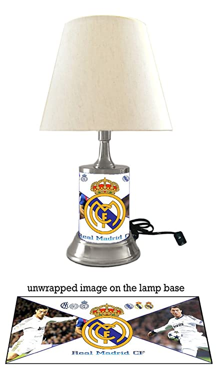 Amazon.com: Real Madrid CF lámpara con sombra, Cristiano ...