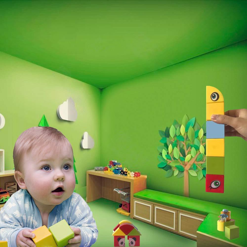 BPA Free Magnetic Blocks Set for Kids Colorful Stacking Blocks 30pcs Educational Blocks with Shapes