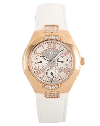 Guess Ladies Watches Guess Sport Ladies Leather Strap W11566L1 - WW