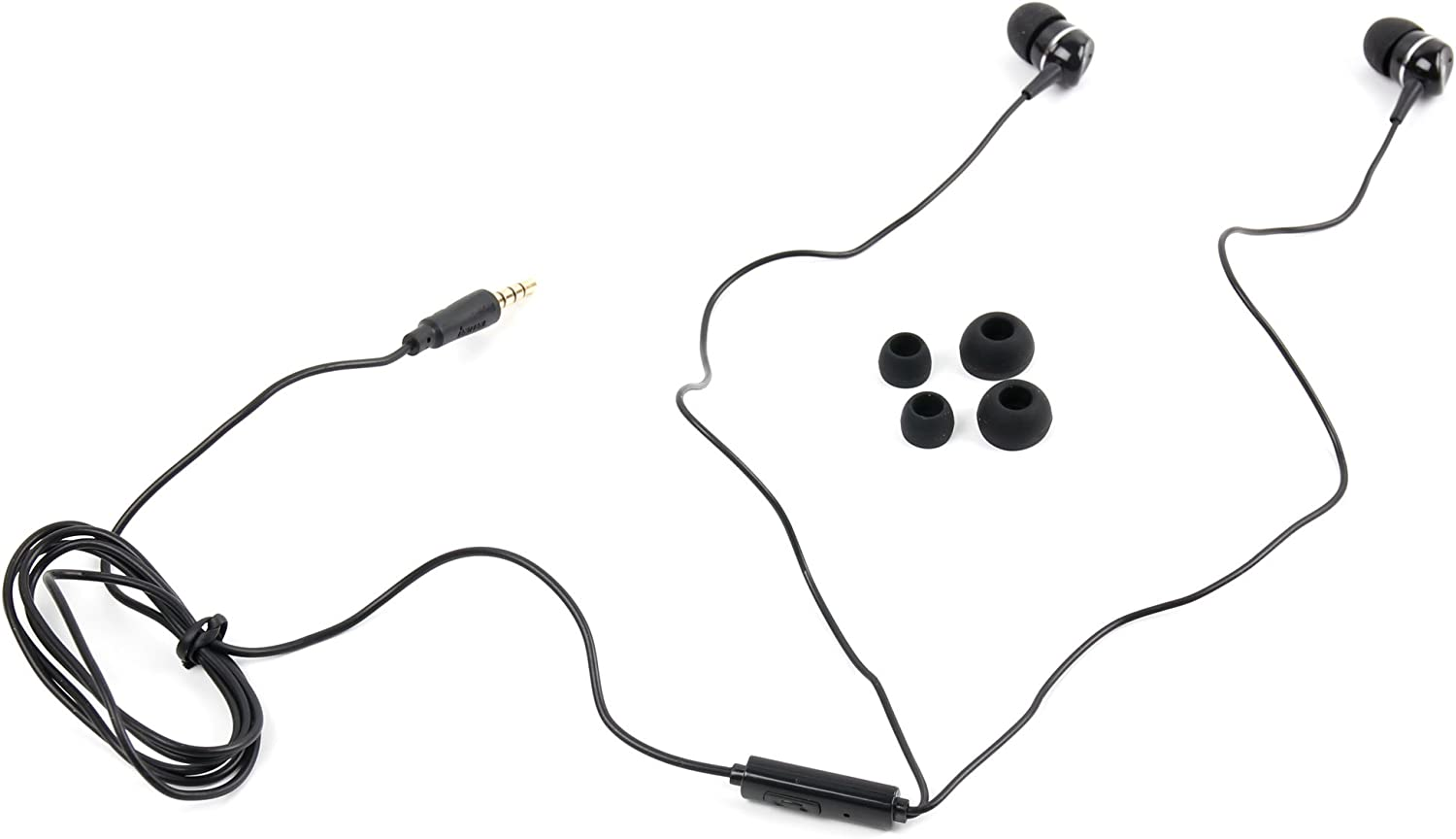 DURAGADGET Premium Quality in-Ear Headphones with Deep Bass & Clear Highs - Compatible with The Acer Chromebook 15 (CB5-571-C4G4)